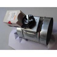 Registre de ventilation motorisé fonction tout ou rien - - série  rmt 230