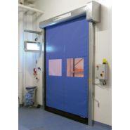 Porte rapide Dynaroll / souple / à enroulement / en plastique / utilisation intérieure et extérieure / 8000 x 8000 mm / ignifuge
