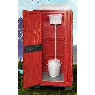 Wc toilet box à raccorder - cabine en location - sebach
