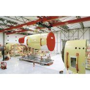Pont roulant process - demag - pour l'industrie aéronautique