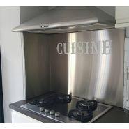 CREDPERSO - MHB - Crédence inox cuisine professionnelle -  Hauteur 1500 mm x Longueur 3000 mm