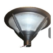 Lampadaire urbain solaire Frisbi 11 / LED / en acier galvanisé / 3 m