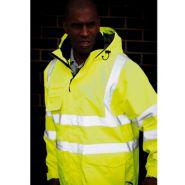 Veste légère haute visibilité cl3 couleur jaune fluo ref. r426u