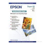 EPSON C13S041340 PAP MAT ARCHIVAL A3+ 50F./192G RÉFÉRENCE :  EPS1238