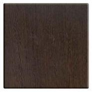 Plateaux de table intérieur plateau de table wengé 1100x700 mm pour l'intérieur chants stratifiés épaisseur 44 mm