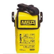 10081637 - masque d'évacuation - msa france - dimensions : environ 24 cm x 14 cm x 12 cm (h x l x p)
