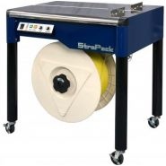 Iq-400 - cercleuse semi-automatique - strapack - Étiquette: standard