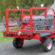 Pailleuse agricole mixte automotrice - Galonnier - paillage juqu'à 2,50 m à 7 m