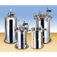 Réservoirs pressurisés  1 à 500 litres