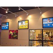 Panneaux intérieurs série 9300 - Cadres lumineux - Display light - Format hors tout : 680 x 506 mm à 1826 x 1286 mm