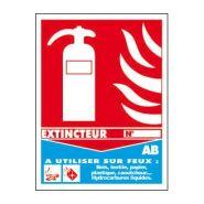 SOG0006 - Panneau d'incendie - TOUTELASIGNALETIQUE.COM - Dimension H 270 xL 200 mm