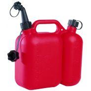 Bidon double : 6 litres    3 litres