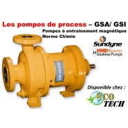 POMPE MAGNÉTIQUE DE PROCESS NORME CHIMIE -  GSA/ GSI SUNDYNE HMD KONTRO