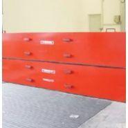 T mbs - barrière de rétention d'eaux d'incendie - cgk - barrière manuelle