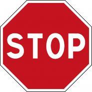 PANNEAU STOP - TYPE AB4 CLASSE 2