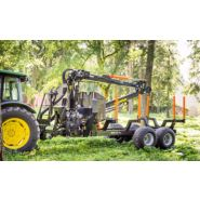 BMF 12T2 Pro Remorque forestière - BMF - 12000 kg