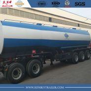 Fuel Tanker Semi-Tra - Remorques citerne - Xiamen Sunsky trailer Co.,Ltd - Capacité 40000 l