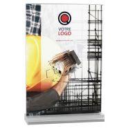 PP5031 - Porte-visuel de comptoir - PLV Broker - Format : A4