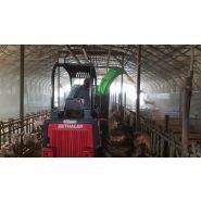 Minipailleuse goulotte tournante pailleuse agricole - juraccessoire - pour valet de ferme de 2000 kg / 40 cv ou plus