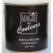 SOUS-COUCHE D'IMPRESSION POUR MURS - BLANC 2500 ML
