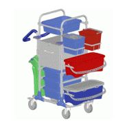 Chariot de nettoyage - mop box 600587