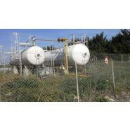 Lpg tanks - citerne à gaz réservoir fixe aérien  - alcane - diamètre 1600 mm