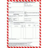 DECLARATION EXPEDITION AERIEN BLOC 100 FTS AUTOCOPIANTS