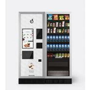 """LEI700 TOUCH 21"""" + ARIA L EVO SLAVE - Distributeurs combinés chaud/froid - Bianchi vending group - Capacité de 700 gobelets"""
