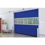 Porte rapide 5015 SEL / souple / à enroulement / en plastique / utilisation intérieure / 5000 x 5000 mm