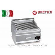 Grill à pierre de lave au gaz marque berto's modèle g6pl60b