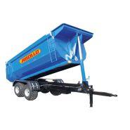 Remorques à tandem trailers - abollo - capacité de 8 t à 15 t