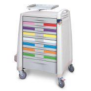 Avalo - Chariot médical - Capsa Healthcare - Grande zone de travail