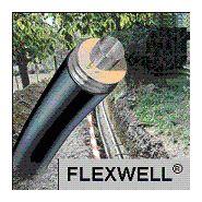 Tube flexible isole a double p
