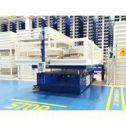 Chariot AGV autoguidé - Morello - Capacité : de 2 tonnes à plus de 1 000 tonnes