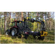 104 Remorque forestière - KESLA OYJ - 9000 kg