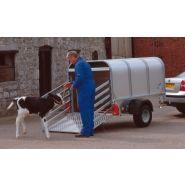 P6e & P7e - Remorque bétaillère - Ifor williams trailers ltd - Poids brut maximum 750 kg