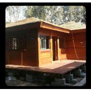 Chalet en bois plain-pied / 49 m² / en kit / toit multipente