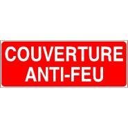 Panneau de signalisation - couverture anti-feu