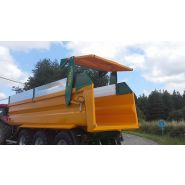 GVM 240 Benne agricole monocoque grand volume - Gourdon SA - Charge 24 T
