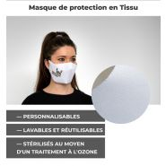MASQUES DE PROTECTION EN TISSU