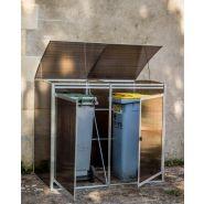 Ref. CP 1609 A - Cache-conteneurs et abris poubelle - Foresta - l 162 x L 93 x Hauteur 124 cm