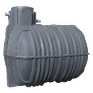 Cuve à eau de pluie 10 000 litres : équipée  réf. cefs10000rld