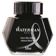 Waterman flacon 50ml encre noire intense