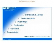 Contrôleur d'accès 2000 baadges - webypass