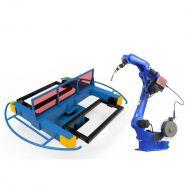 Positionneur de soudure - chengdu crp automatic control technology co., ltd - lourd 3 axes