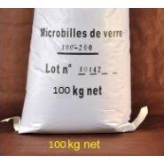 SABLE POUR SABLEUSE ET ABRASIFS - 100 KG MICROBILLES DE VERRE POUR CABINE DE SABLAGE