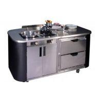 Cuisine Mobile à Induction - Alpina - Haute gamme