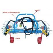 SPOL DOUBLE - Épampreuse mécanique - Arrizza SRL - Châssis à 3 points posterieur