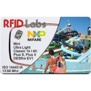 CARTE BADGE RFID 13.56 MHZ MIFARE IMPRIMEE OFFSET