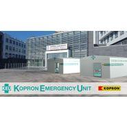 Abris médicaux mobiles - Kopron - Structure en acier